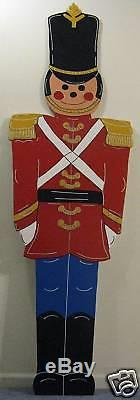Giant Toy Soldier Christmas Lawn Yard Art Decoration