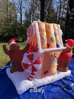 Gingerbread House Very Cute 5. 1/2 Ft 6 Ft Inflatable, New