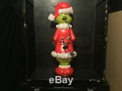 Grinch Christmas Holiday Blow Mold Dr Suess Gemmy Plastic Dual Lighted New