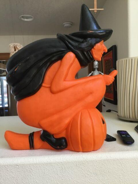 Halloween Rare Featherstone Blow Old Witch