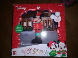Huge Disney Christmas Airblown Inflatable 14 1/2' Toy Soldier Mickey Mouse