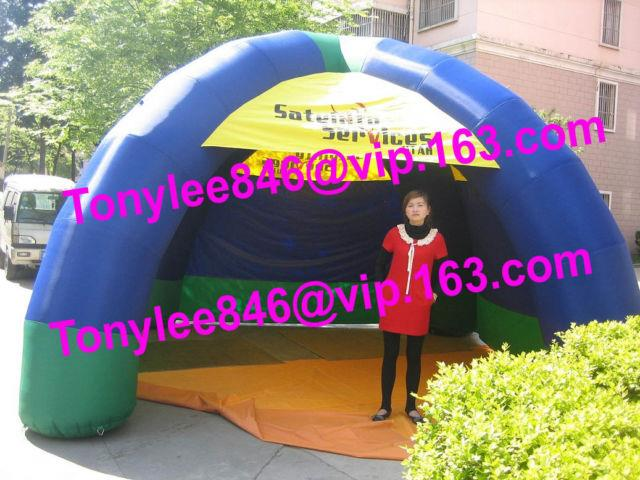 Inflatable Tent With 4legs, Party & Event Tent With Blower, 15ft Wide