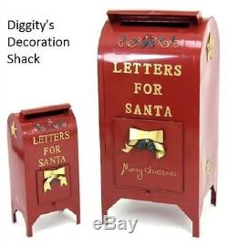 Letters for Santa Mailbox Christmas Decoration Indoor/Outdoor TINY BLEMISH