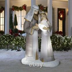 Lighted Inflatable Christmas Nativity Outdoor Decoration 6.5-ft