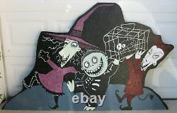 Lock Shock & Barrel Halloween Lawn Art Yard Decor Nightmare Before Christmas
