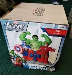 Marvel Avengers Assemble Christmas Inflatables Outdoor Airblown 6' Lighted Scene