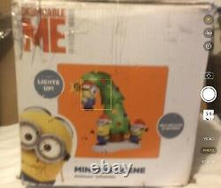 Minions 9 Feet Christmas Air blown Light Up Inflatable Despicable Me