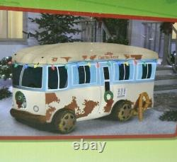 NEW National Lampoons Christmas Vacation 7.5' Cousin Eddie Inflatable RV Camper