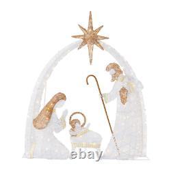 Nativity Scene 5.5ft LED Light Yard Outdoor Indoor Holiday Christmas Decorations