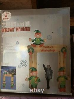 New Inflatable Christmas Elves Elf Arch