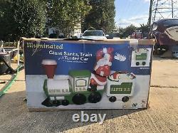 New Santa Claus Train Blow Mold General Foam Plastics