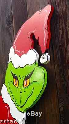 ON SALE! GRINCH Stealing the CHRISTMAS Lights Lawn Yard Art Decoration Decor 48