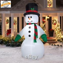 Outdoor Christmas Airblown Inflatable-Snowman Giant 10ft tall Best Gift New Year