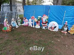 Outdoor Christmas Blow Molds
