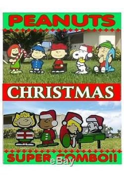 Peanuts outdoor SUPER DELUX Christmas decorations