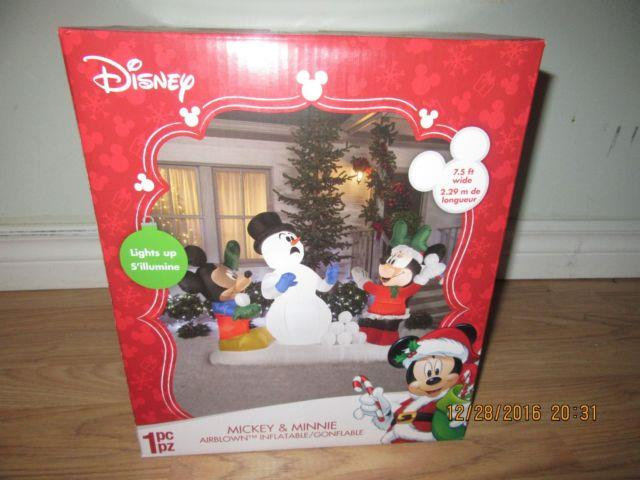 Rare Mickey Mouse And Minnie Mouse Snowball Fight $125 Buyitnow