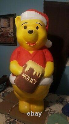RARE Vintage Walt Disney Lighted Blow Mold 43x 14 WINNE THE POOH