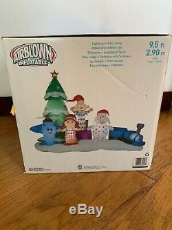 Rudolph Island of Misfit Toys Christmas 9.5' Airblown Inflatable Gemmy NIB