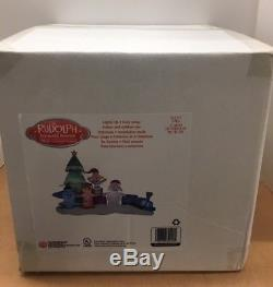 Rudolph Rednose Reindeer Island Of Misfit Toys Christmas Airblown Inflatable