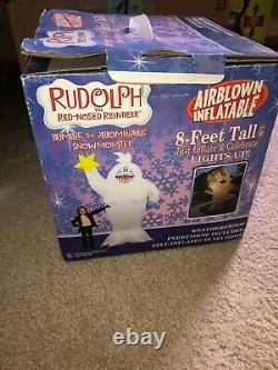 Rudolph The Red Nosed Reindeer Bumble Snowmonster Inflatable Gemmy Bnib Rare