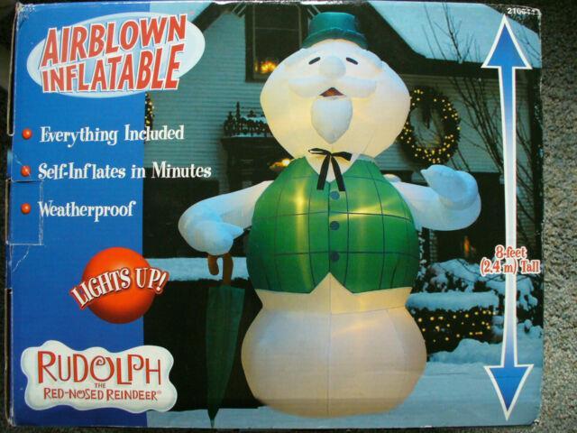 Sam Snowman Orignal Gemmy Christmas Airblown Inflatable