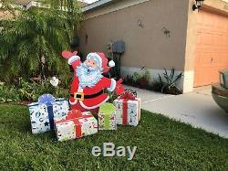 Santa Claus is Coming to Town Christmas Yard Art Decor FREE Shipping