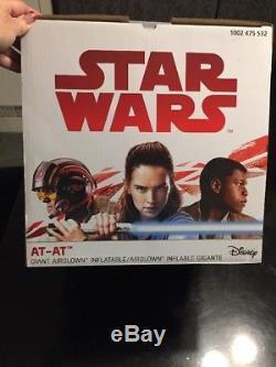 Star Wars Disney AT AT giant airblown inflatable 9 ft NIB Gemmy AT-AT Christmas