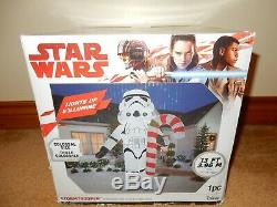 Star Wars Stormtrooper Christmas Inflatable 13 Feet Tall Brand New Free Ship