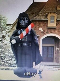 Star Wars Xmas Darth Vader Giant 16 Foot Inflatable Hardly Used