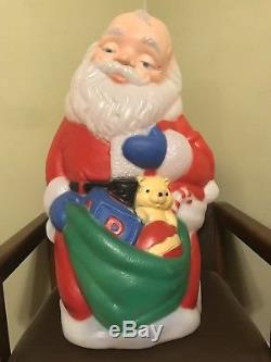 TPI Praying Santa & Baby Jesus Blow Mold EXTREMELY RARE
