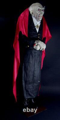 The Count Dracula Vampire Prop 6ft Tall Halloween / Decorative Statue Decor