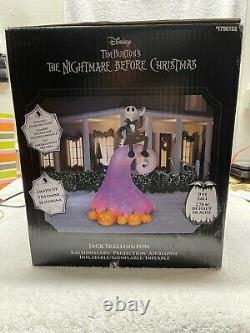 The Nightmare Before Christmas Airblown Kaleidoscope Projection Jack Skellington