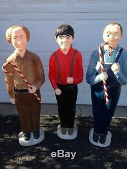Union Blow Mold Three Stooges 1999 Don Featherstone