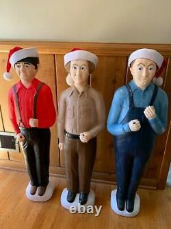 Union Don Featherstone Three Stooges Set Christmas Blow Molds