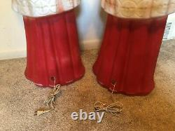 Vintage Beco Choir Girl & Boy pair Lighted Christmas Blow Mold