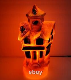 Vintage Empire Halloween Haunted House 13 Blow Mold 1969 with Light