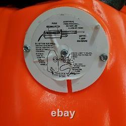 Vntage 1993 Halloween Blow Mold black cat inside pumpkin Carolina Enterprise 35