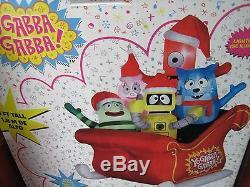 Yo Gabba Gabba Airblown Inflatable Christmas Sleigh Holiday Yard Decoration 6